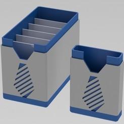 Download 3D model  pocket organizer with interchangeable sleeves, johrek