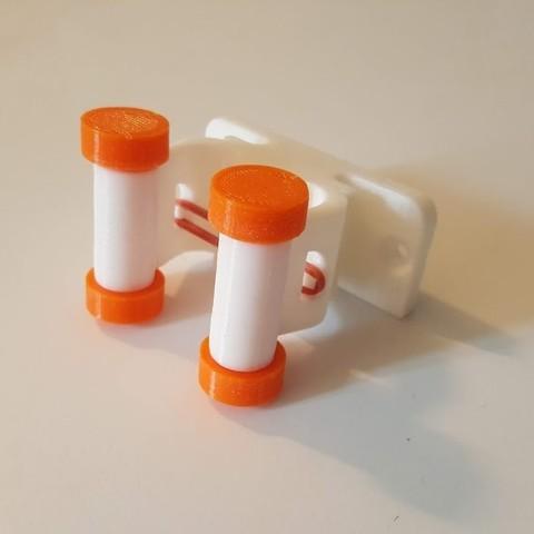 Télécharger objet 3D gratuit Support de balai., Nitsoh