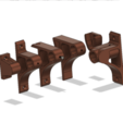 Download free STL Rod supports Ø 12/18, set., Nitsoh