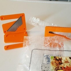 Download free 3D printing designs Safety cutter, Nitsoh