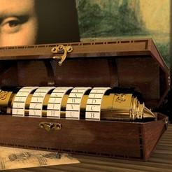 Télécharger fichier STL Da Vinci code. • Design à imprimer en 3D, Nitsoh