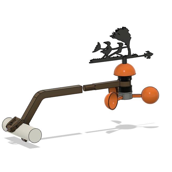 Capture d'écran (93).png Download free STL file Weather vane • 3D printable object, Nitsoh