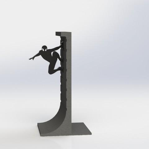 Télécharger plan imprimante 3D gatuit Présentoir de livres Action Hero, Digi2print
