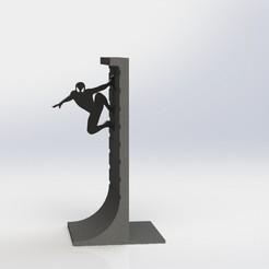 Descargar modelos 3D gratis Soporte para libros Actin Hero, Digi2print