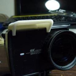 michood5.JPG Télécharger fichier STL Mic Hood pour Xiaomi Yi 4K Action Cam • Modèle pour impression 3D, Digi2print