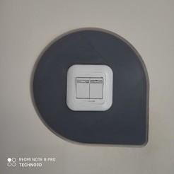 IMG_20200920_161511.jpg Download STL file Light Switch Frame - Wall Protection • Design to 3D print, Digi2print