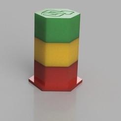 hex_container.JPG Télécharger fichier STL Récipient hexagonal • Modèle pour imprimante 3D, Digi2print