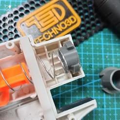 stage1.jpg Download STL file Nerf Retaliator Spring Spacers  • 3D printable object, Digi2print