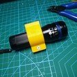 Download STL file Parametric Flashlight holder for Ner N-strike, Digi2print