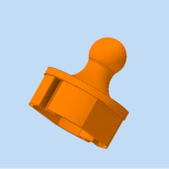 pokrov 2.png Download STL file Cover for socket 2 • 3D printable template, HMINVENTS