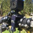 3D printer files Cycling holder for GoPro camera., JocoDrvar