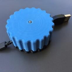 IMG_6486.JPG Télécharger fichier STL Enrouleur de câble • Design pour imprimante 3D, HMINVENTS