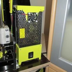 0007.jpg Télécharger fichier STL Refroidissement de l'alimentation et couvercle avec interrupteur. • Plan à imprimer en 3D, MVano