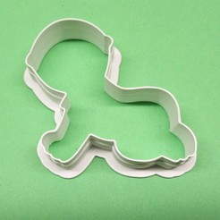 mimino1.jpg Download STL file 10 pieces of cutter in the shape of children • 3D printer model, MVano