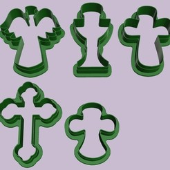církevní1.jpg Download STL file 9pcs cutter church for believers • Object to 3D print, MVano