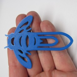 IMG_1263.JPG Download STL file  20pcs bookmarks in one PAPER CLIPS  • Design to 3D print, MVano