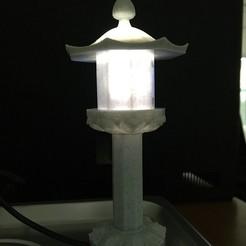 01.jpg Télécharger fichier STL Lumière de pierre • Plan pour imprimante 3D, allenkwon76
