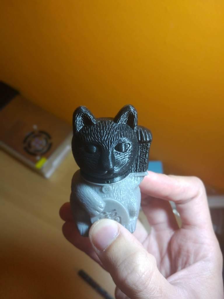 1555354748490.jpg Download free STL file Maneki-neko De-Capicat Head • 3D printing template, luisdamed
