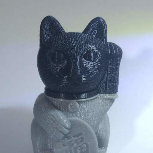 IMG_20190522_220606.jpg Download free STL file Maneki-neko De-Capicat Head • 3D printing template, luisdamed