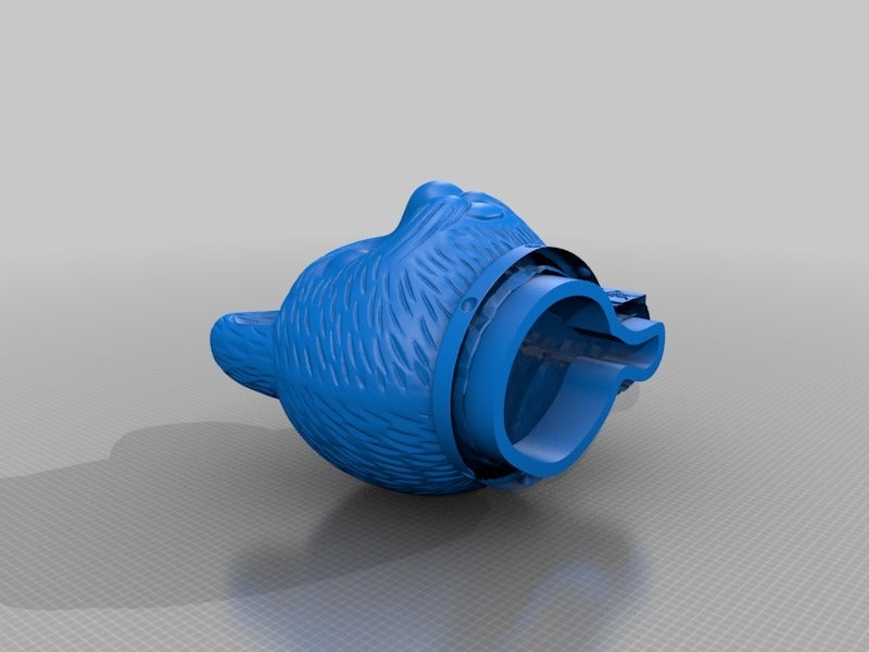 7b10b839065d75d934fef2190a40b595.png Download free STL file Maneki-neko De-Capicat Head • 3D printing template, luisdamed