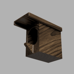birdfeeder_nano2.png Download STL file Birdhouse_nano • 3D printer object, the_sergeant