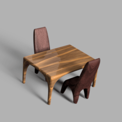 Download free 3D print files Table and chair, tnjlaliberte