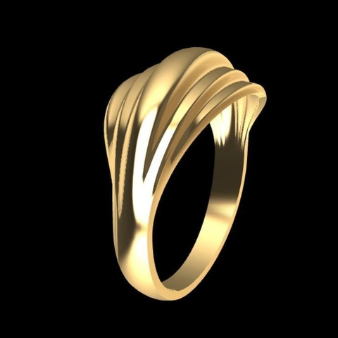 Download free 3D model Ring curvatures, tedalvarez