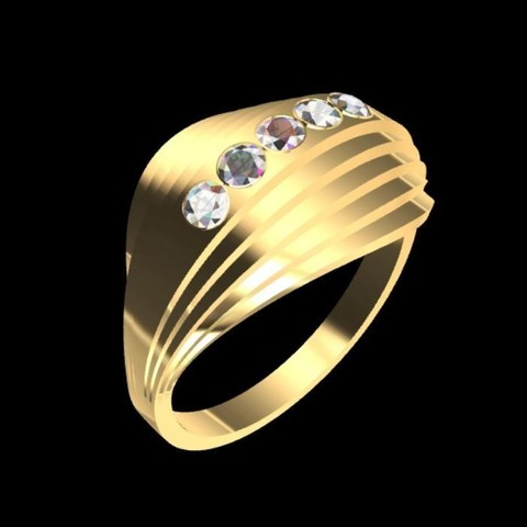 Download 3D printing templates graderias ring, tedalvarez