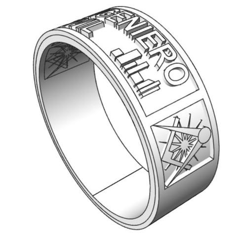Download free 3D printing designs Ring Engineer, tedalvarez