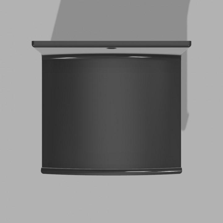 720X720-stand-cuffie-v4.jpg Télécharger fichier STL gratuit Support pour casque d'écoute (montage mural) • Plan pour imprimante 3D, FARAS