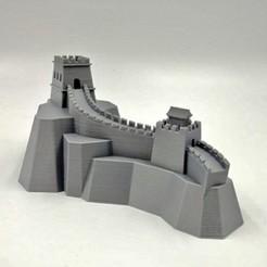 1.jpg Télécharger fichier STL gratuit Grande Muraille de Chine • Objet pour impression 3D, FARAS