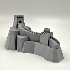 1.jpg Download free STL file Great Wall of China • 3D printer template, FARAS