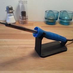 2.jpg Descargar archivo STL gratis Soporte de hierro de soldadura • Diseño imprimible en 3D, FARAS