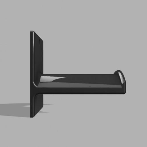 720X720-stand-cuffie-v3.jpg Télécharger fichier STL gratuit Support pour casque d'écoute (montage mural) • Plan pour imprimante 3D, FARAS