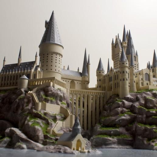 Download free STL file Hogwarts Castle (Harry Potter) • Model to 3D print, FARAS