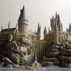 1.jpg Télécharger fichier STL gratuit Le château de Poudlard (Harry Potter) • Plan pour imprimante 3D, FARAS