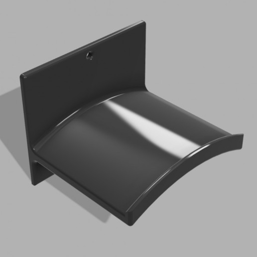 720X720-stand-cuffie-v5.jpg Télécharger fichier STL gratuit Support pour casque d'écoute (montage mural) • Plan pour imprimante 3D, FARAS