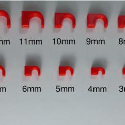 assortment.png Télécharger fichier STL gratuit Clip de câble à clouer • Plan pour imprimante 3D, FARAS