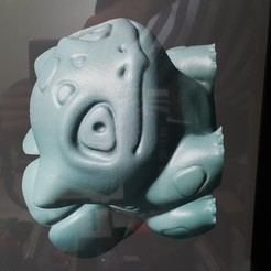 Descargar modelo 3D BOLBASAUR MACETA , hmendivelsod