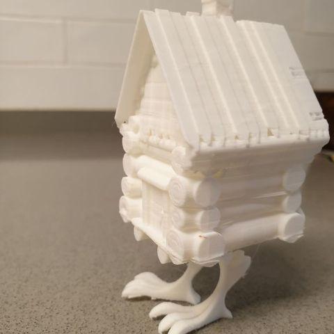 Download free 3D printing models Baba Yaga House, EliGreen