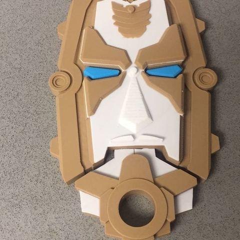 44c35c540aa40db0e3bfe6d1d699f065_display_large.jpeg Download free STL file Power Rangers Megaforce Gosei morpher • 3D printable design, EliGreen
