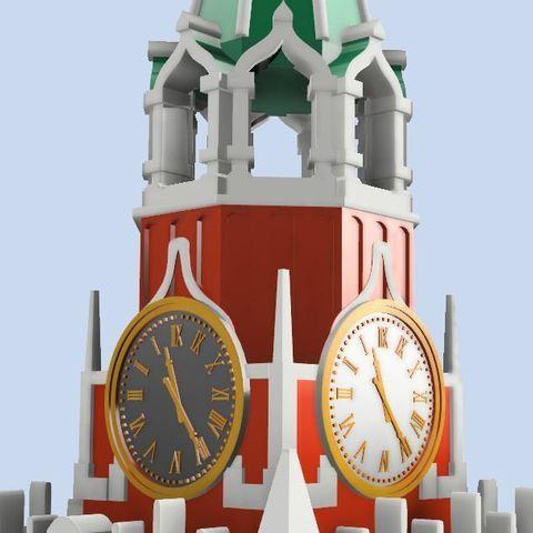 6e07ca32050fb53a9ae9c6541138cd00_display_large.JPG Télécharger fichier STL gratuit Tour Spasskaya du Kremlin sur la Place Rouge • Modèle à imprimer en 3D, EliGreen