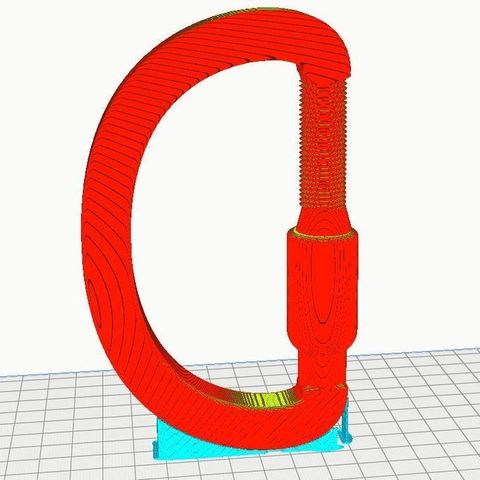 45ed3e5a1e47deb9c5c01fdc9389cc03_display_large.JPG Download free STL file Screw thread lock Shackle (watch the video) • 3D printer object, EliGreen