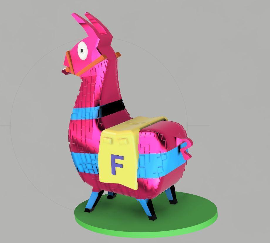 cf1cf5f91e83fa132c3d439cb95c1a81_display_large.JPG Download STL file Fortnite LLama • 3D print template, EliGreen