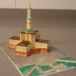 print.jpg Télécharger fichier STL gratuit Ratusha d'ivano frankivsk ville • Plan à imprimer en 3D, EliGreen