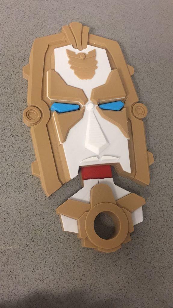 649535a20489a078bd07936a7b6fb75f_display_large.jpeg Download free STL file Power Rangers Megaforce Gosei morpher • 3D printable design, EliGreen