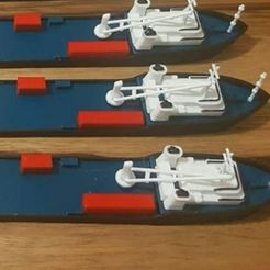 Download free 3D printing models Cargo ship, EliGreen