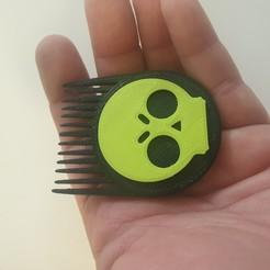 20191006_185924.jpg Download free STL file Brawl Star hair brush • 3D printable object, EliGreen