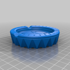 pepel2.png Download STL file Ashtray • 3D printing template, EliGreen