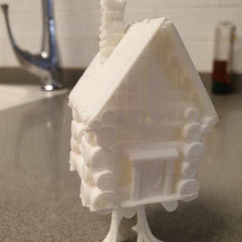 ced77617d724da10e00afbfd91e3a640_display_large.jpg Download STL file Baba Yaga House • Model to 3D print, EliGreen